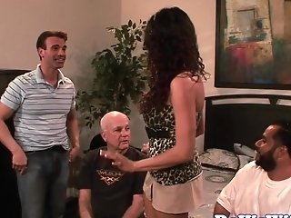 Married Mummy Gets Titfucked And Cooter Banged