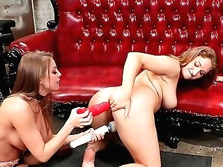 Lezzy Female Domination In Rough Scenes With Britney Amber And Skylar Snow