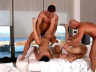 Anastasia Devine And Abbie Cat Love To Exchange Their Hubbies
