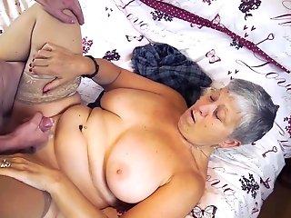 Agedlove Lacey Starr Xxl Size Granny Gonzo Romp