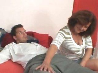 She Fucks Her Daughter-in-law's Bf