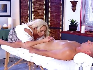 Brazzers - Dirty Masseuse - The Manmeat Healer Sc